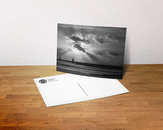 Postkarte - Windmühlen