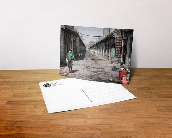Postkarte - Hutong