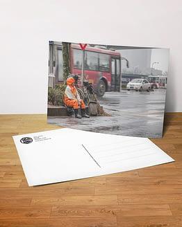 Postkarte - Pause