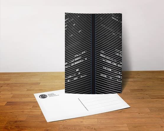Postkarte - Geometrie