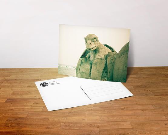 Postkarte - Ei