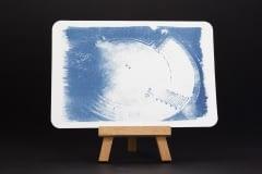Arena - Cyanotypie - Postkarte