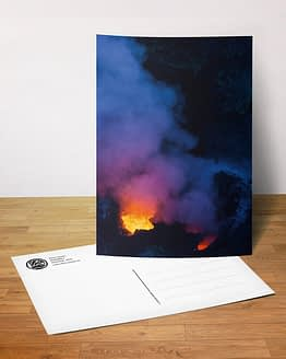 Postkarte - Vulkan